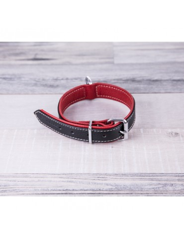 DG07 Leather Dog Collar