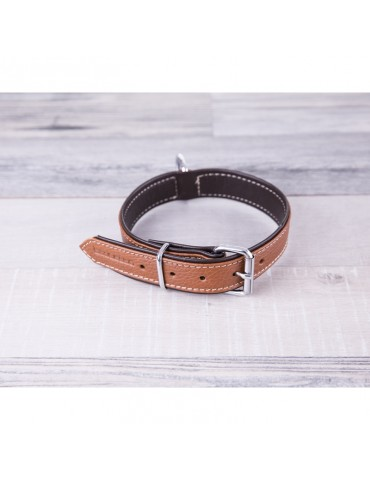 DG09 Leather Dog Collar