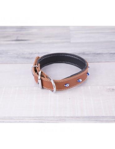 DG09 Leather Dog Collar