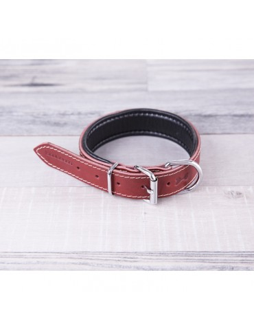 DG10 Leather Dog Collar