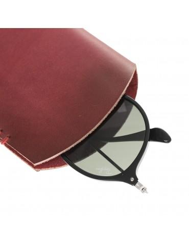 Deri Gözlük Kılıfı