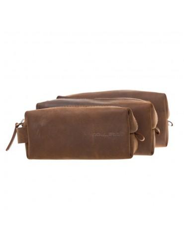 Leather Make-up Bag