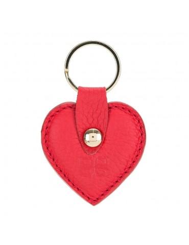 Deri Anahtarlık Kalp