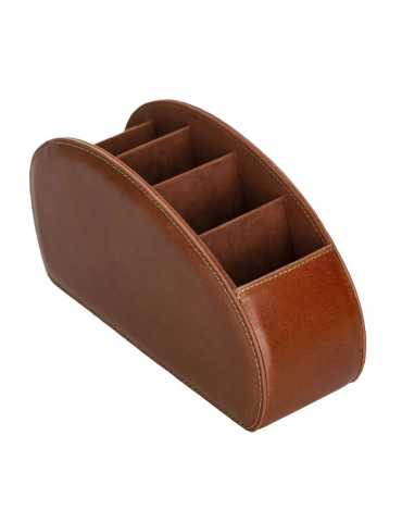 Leather Remote Control Holder