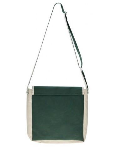 Sirius Raw Cloth Messenger Bag